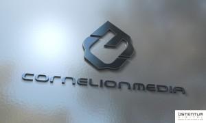 ostentum cornelionmedia logo concept