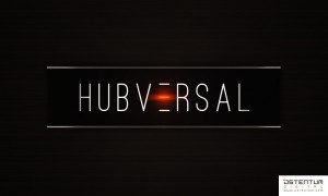 ostentum hubversal logo concept