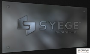 ostentum syege logo concept